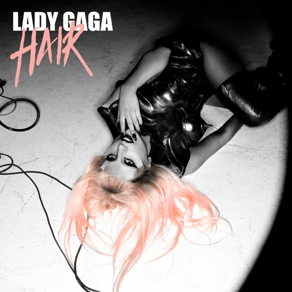 lady gaga hair single cover hd. Watch Gaga talk, talk some