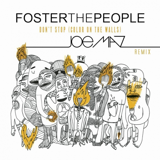Скачать бесплатно foster the people — don't stop (color on the.