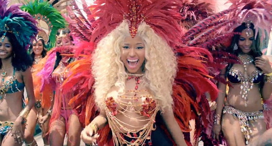 Video Premiere: Nicki Minaj – Pound The Alarm