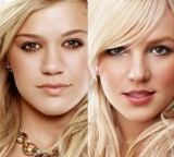 "Kelly Clarkson tries to fly, she doesn't fall, slaughters Britney's ""Everytime"" LIVE!"