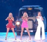 Posh, Scary, Baby, Sporty, and Ginger walk into a London Olympics closing ceremony….