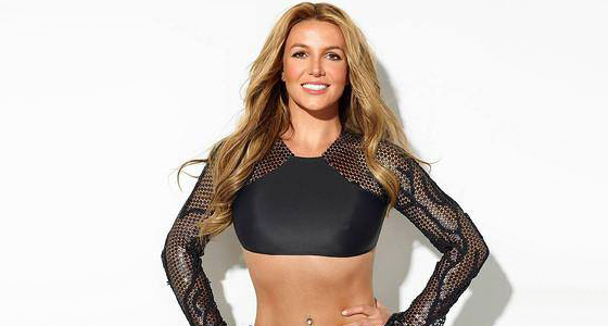 Britney Spears tones up on the cover of Womens Health