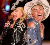 Miley Cyrus: Unplugged, Watch Miley and Madonna do their thang!